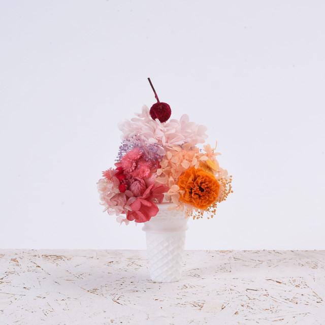 ICE CREAM 〈Orange Flamingo〉