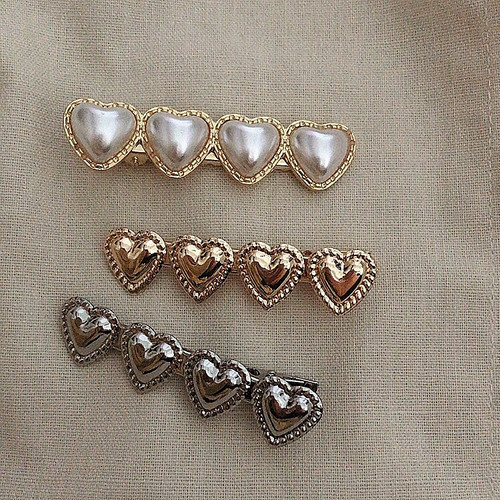 vintage heart pin