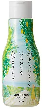 瀬戸内レモンとはちみつの生スクラブ