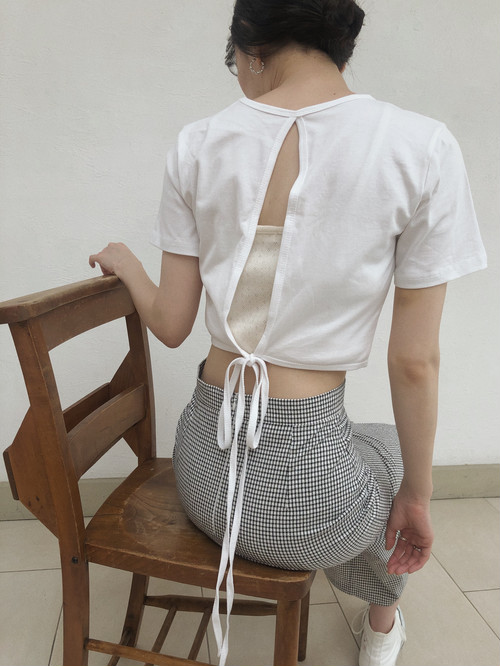 short ribbon T