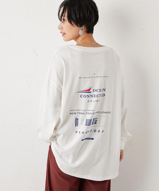 オソロエアラインロングTシャツ