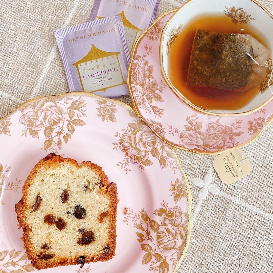 なんて優雅なひと時なのかしら。王国のお姫様気分に浸れる紅茶スイーツrecipe