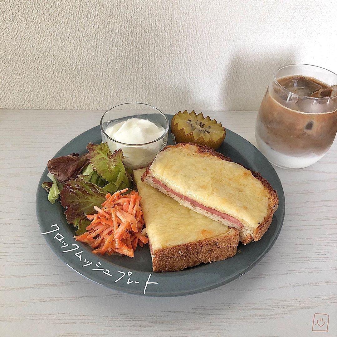 """ハムやチーズをサンドして♡お洒落な""""クロックムッシュ""""レシピで素敵な食卓を"""