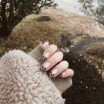 レオパード柄から、autumnの雰囲気が漂います。秋の先取りは指先でキメてみよう♡