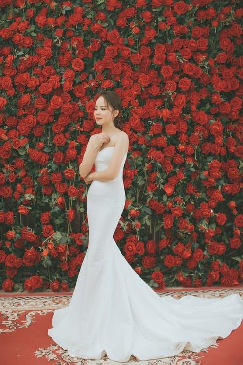 バラのように存在感がある。強く自分の意思を持った流されない女性に憧れて