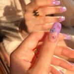可愛い指先、折角ならお洒落に写真に収めたい!IG用に撮りたい#ニューネイルの撮り方