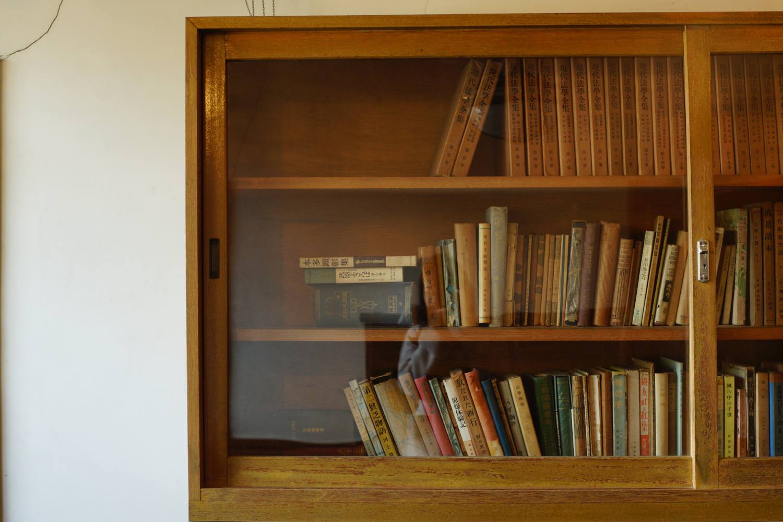 ⑤充実しすぎの本棚