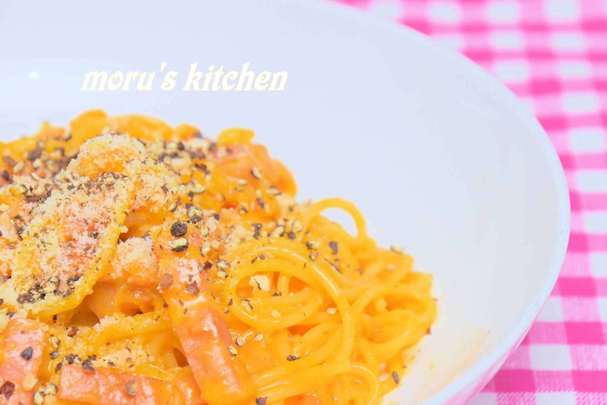 簡単で卵黄のみで作る!本場イタリアのカルボナーラ☆