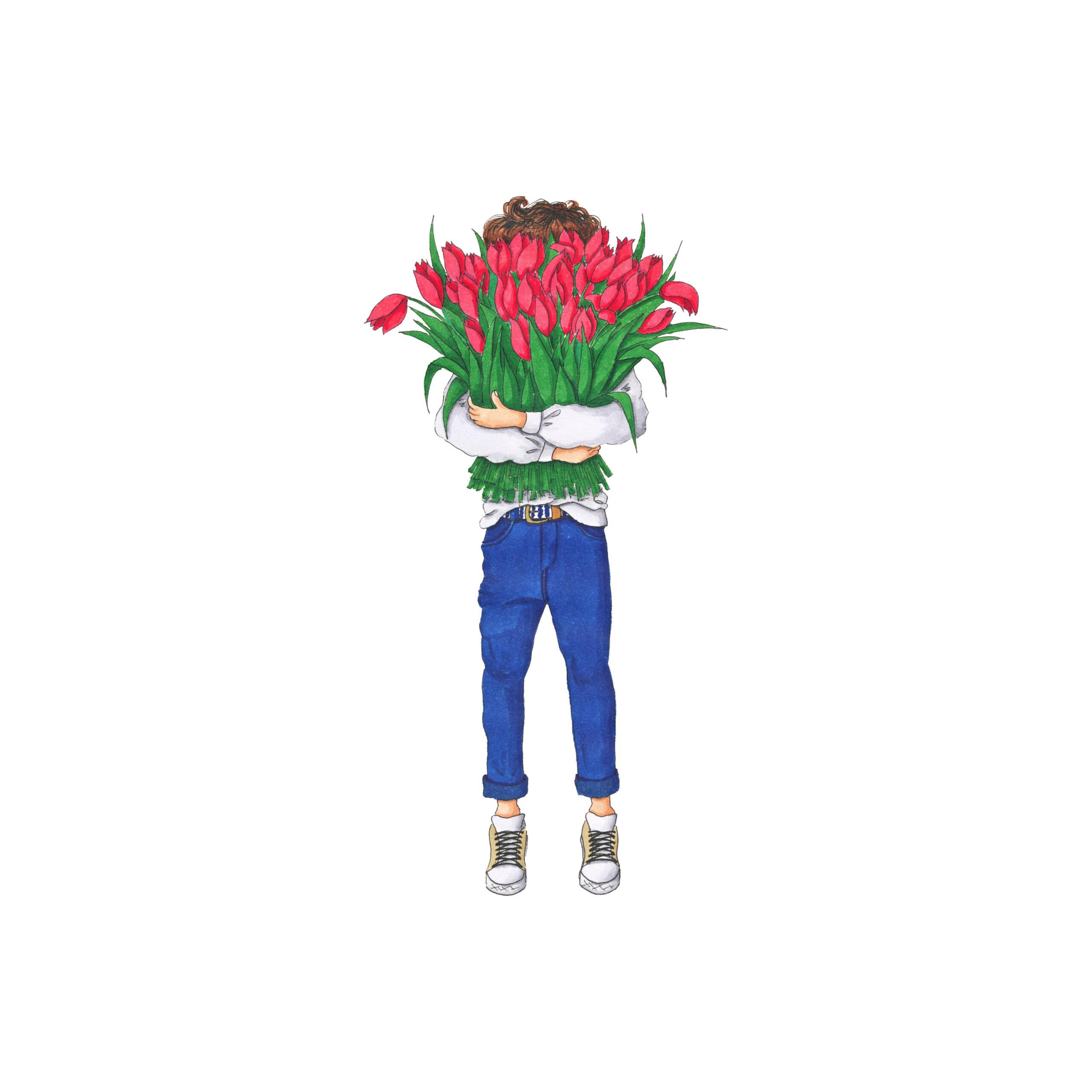 いつだってお花は男の子があげる側?