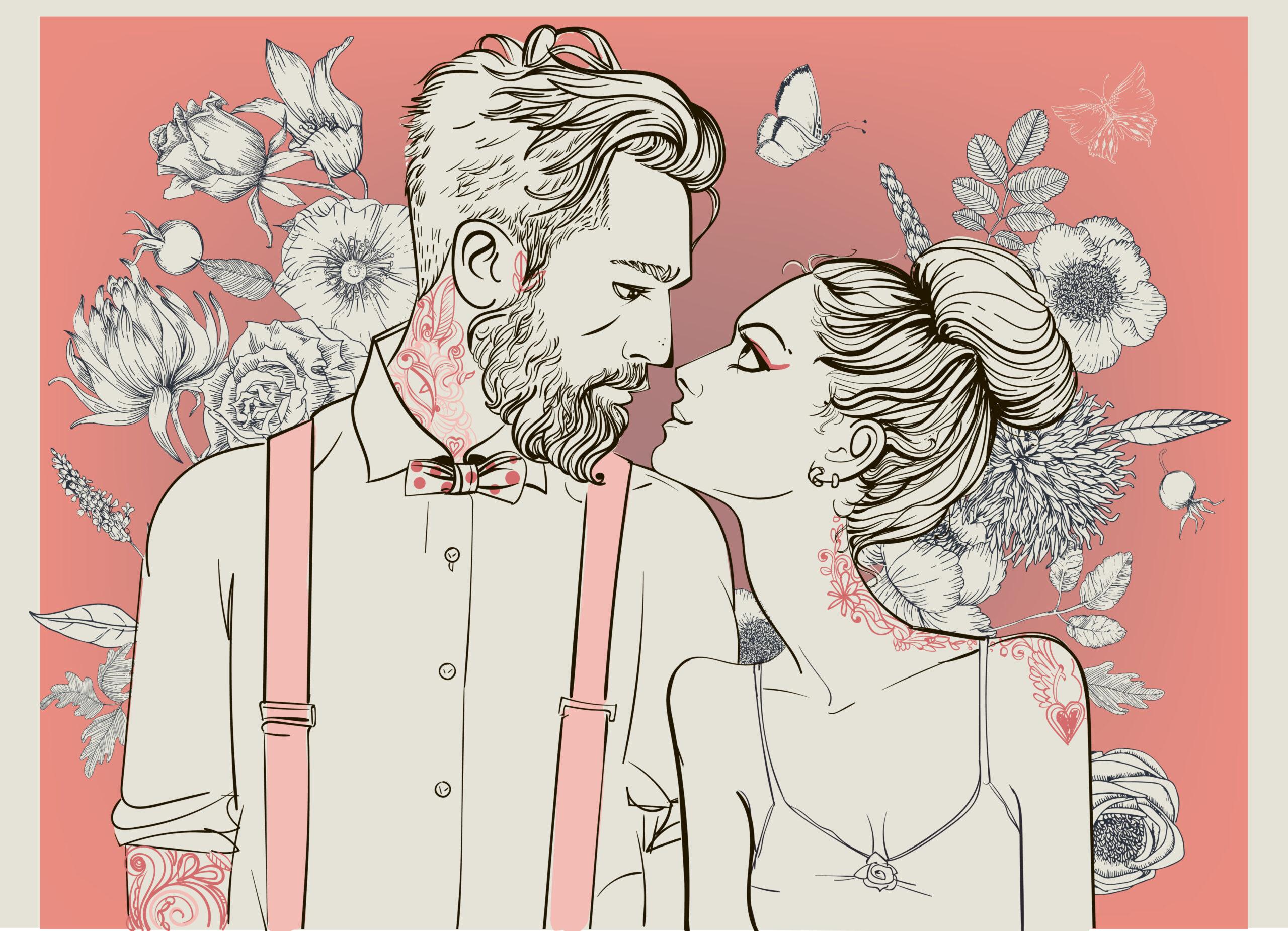 お花で素敵な関係を