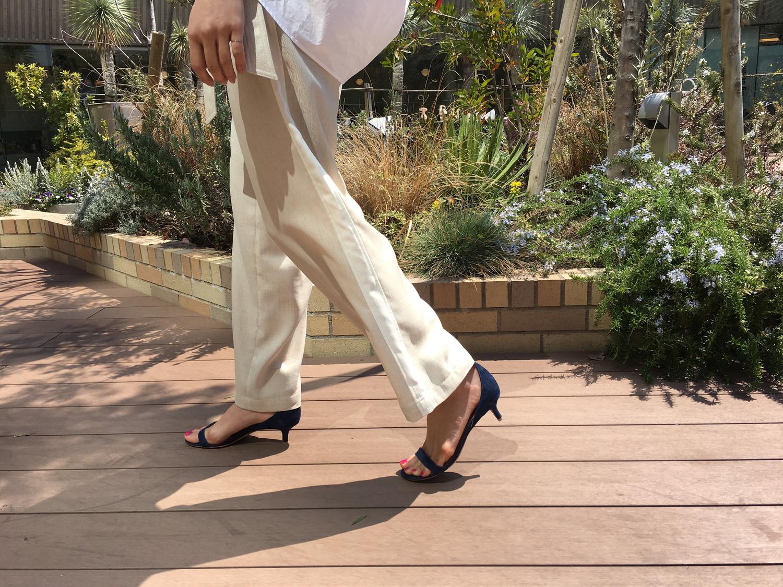 綺麗な姿勢・歩き方