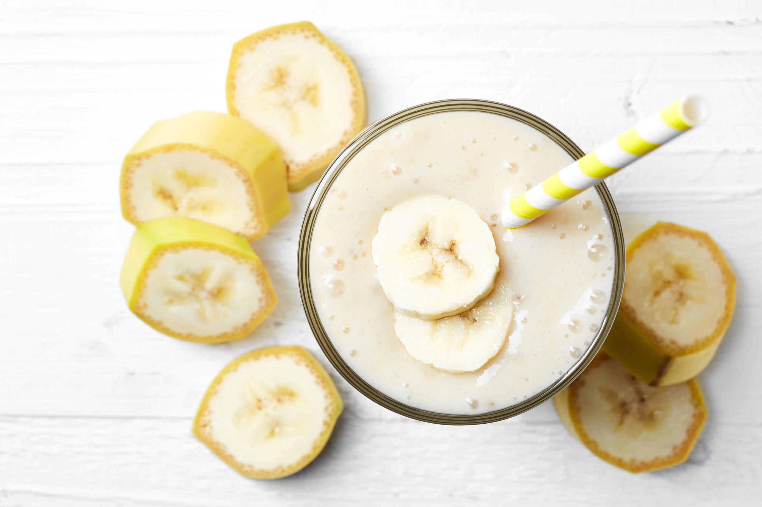 バナナジュースが流行ってるって噂♡