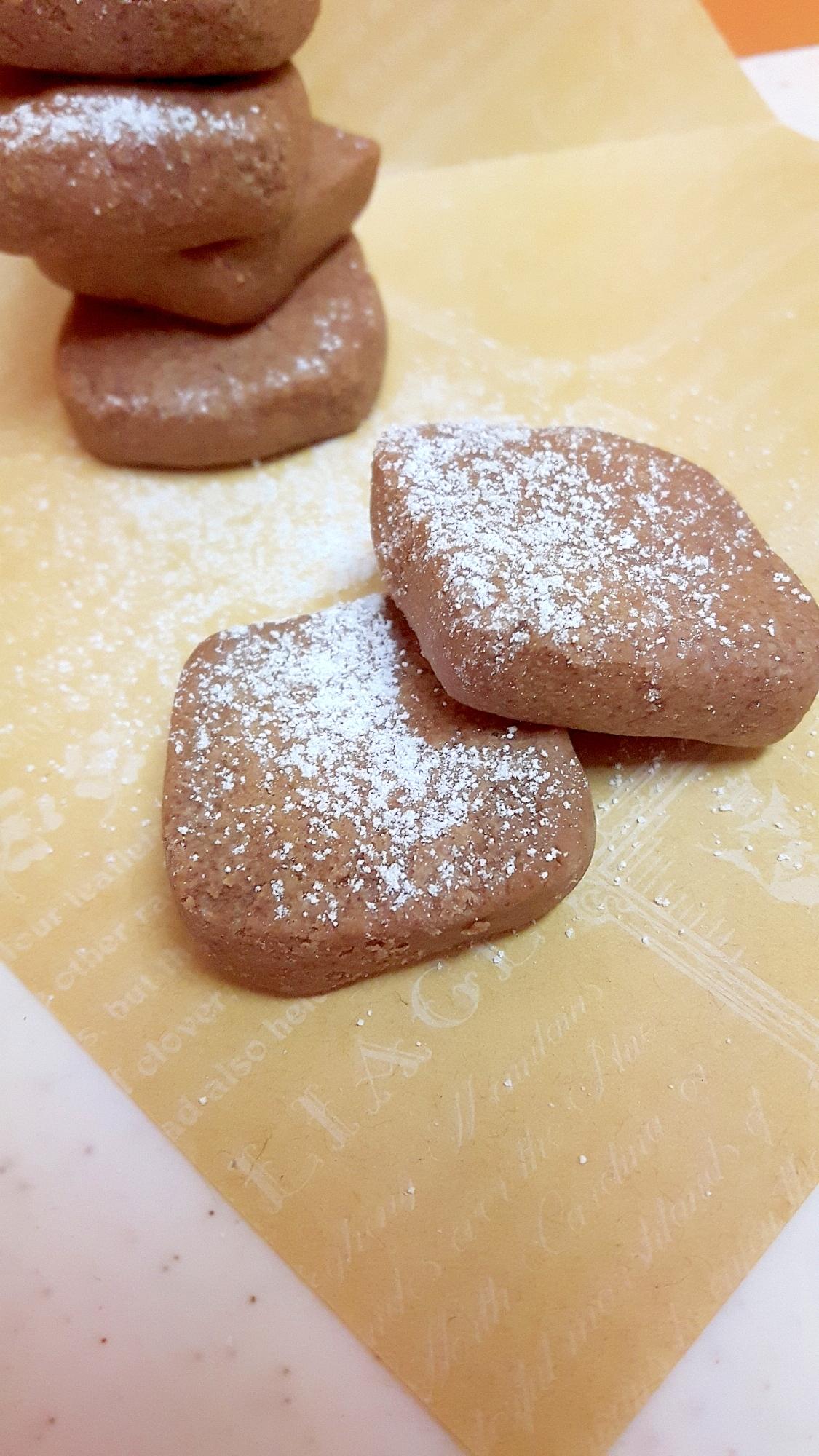 電子レンジで!(^^)アーモンドチョコクッキー♪