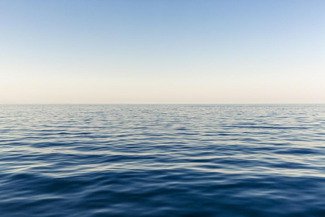 海でデート