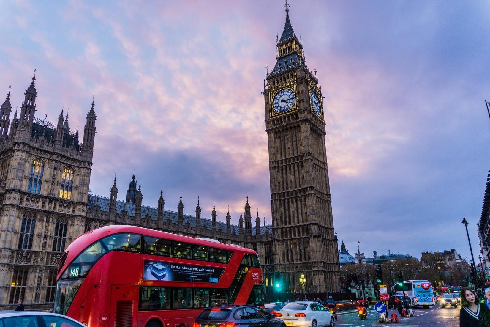 美しいロンドンの風景にご注目