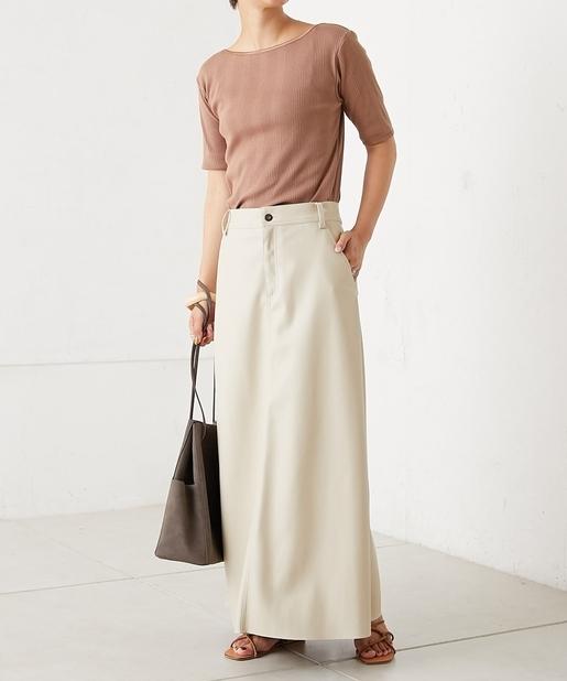 item①|イイ女感漂うレザースカート