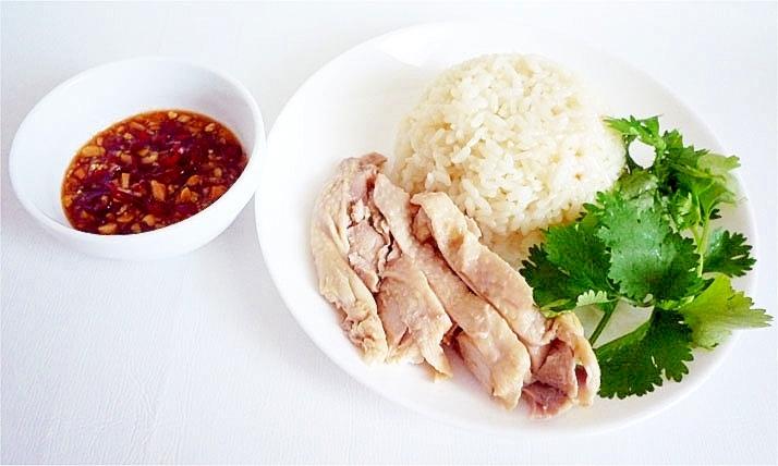 本格的 カオマンガイ タイ風チキンライス