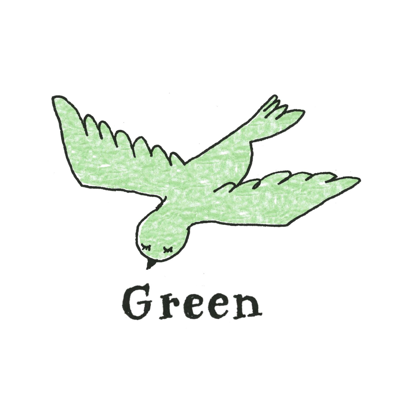 D:グリーン