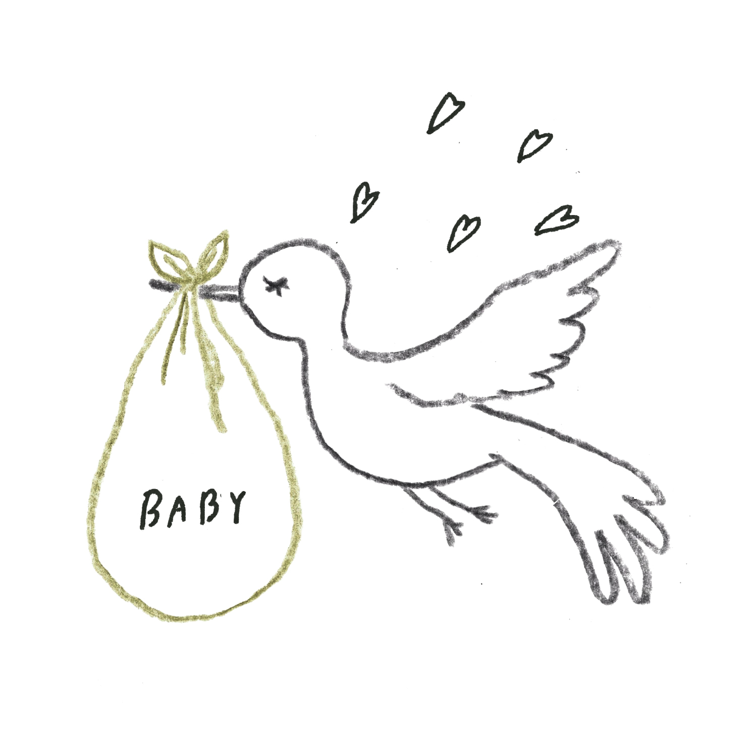 C:待望の赤ちゃんができた