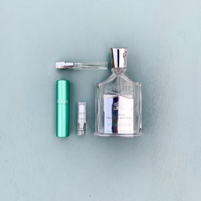 気になるブランド香水の無料試香もできる