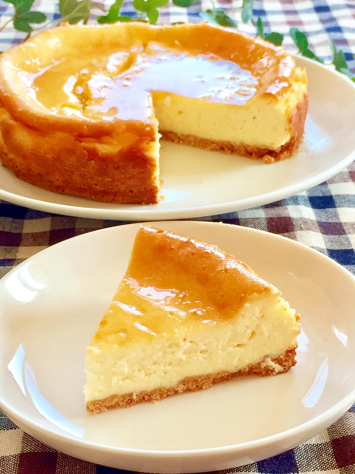 濃厚♡なめらか♡ベイクドチーズケーキ