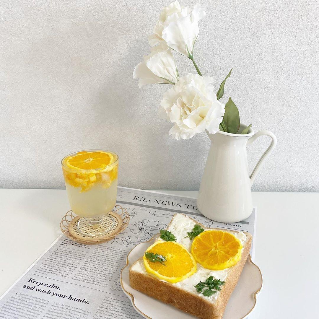 5|クリームチーズオレンジトースト