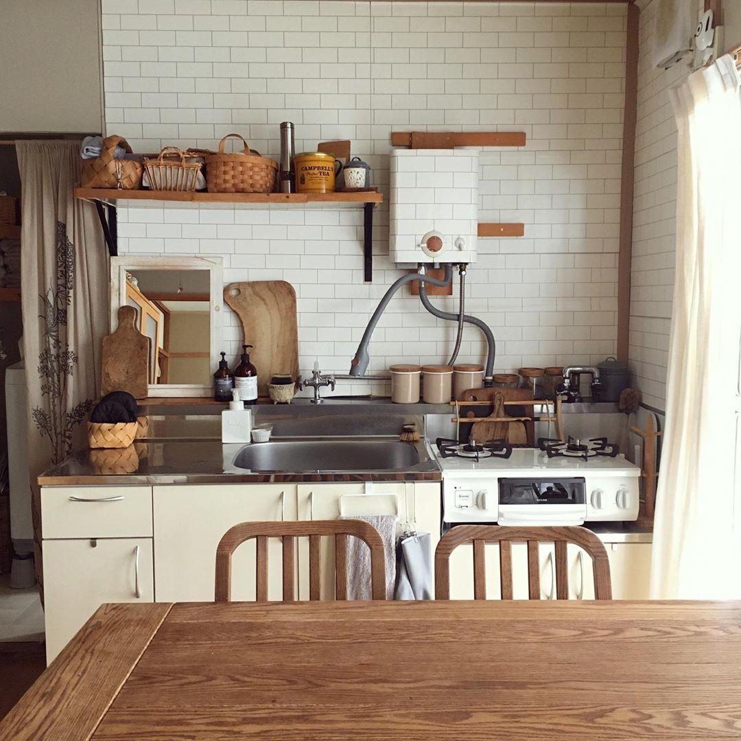 キッチンもお家の中のお気に入り