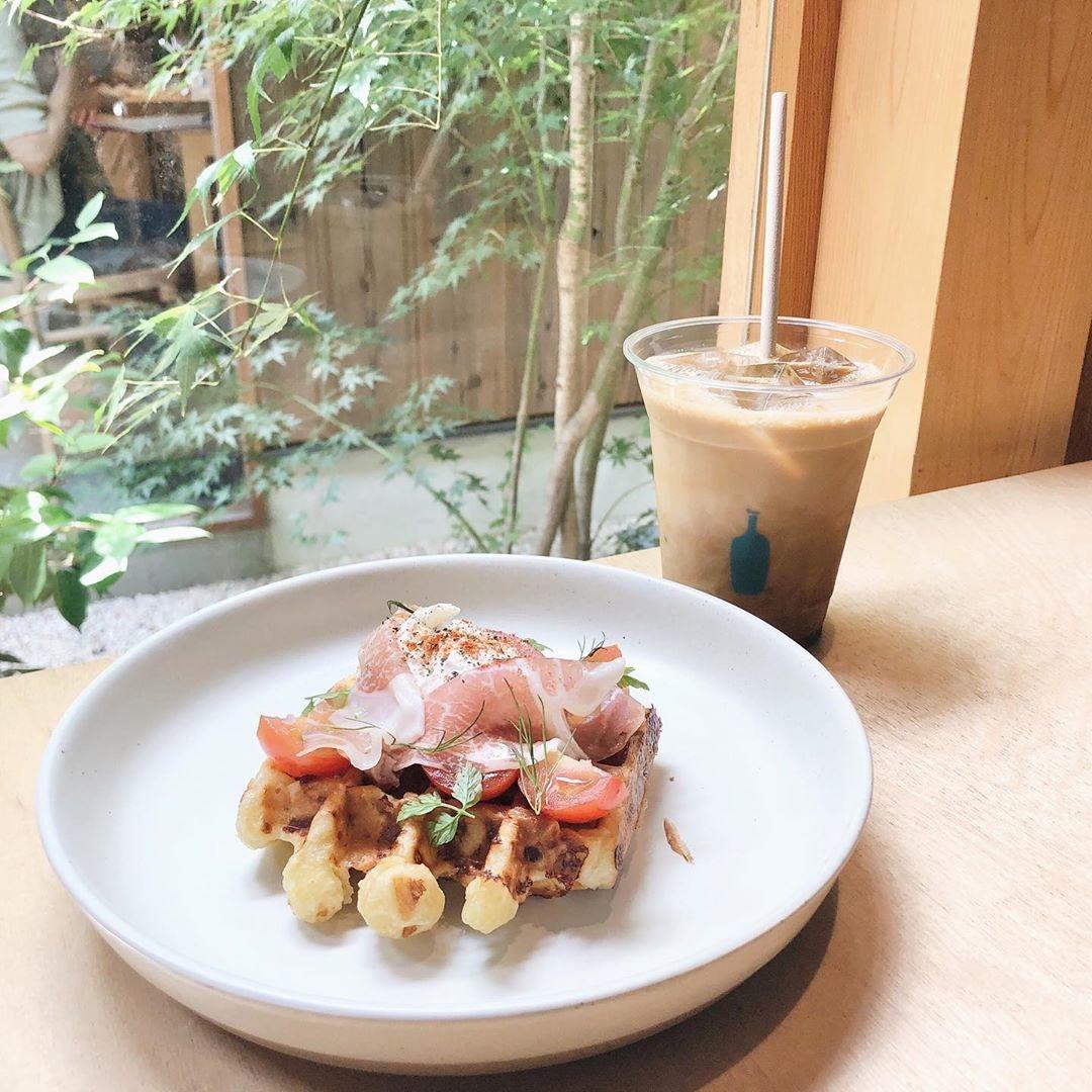 京都カフェ限定メニューも