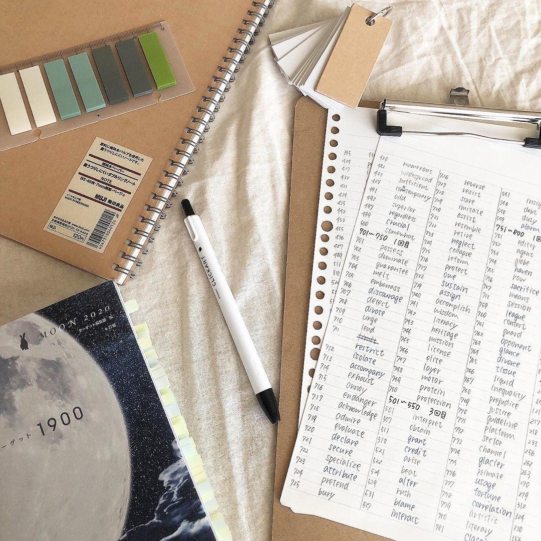 :Study items
