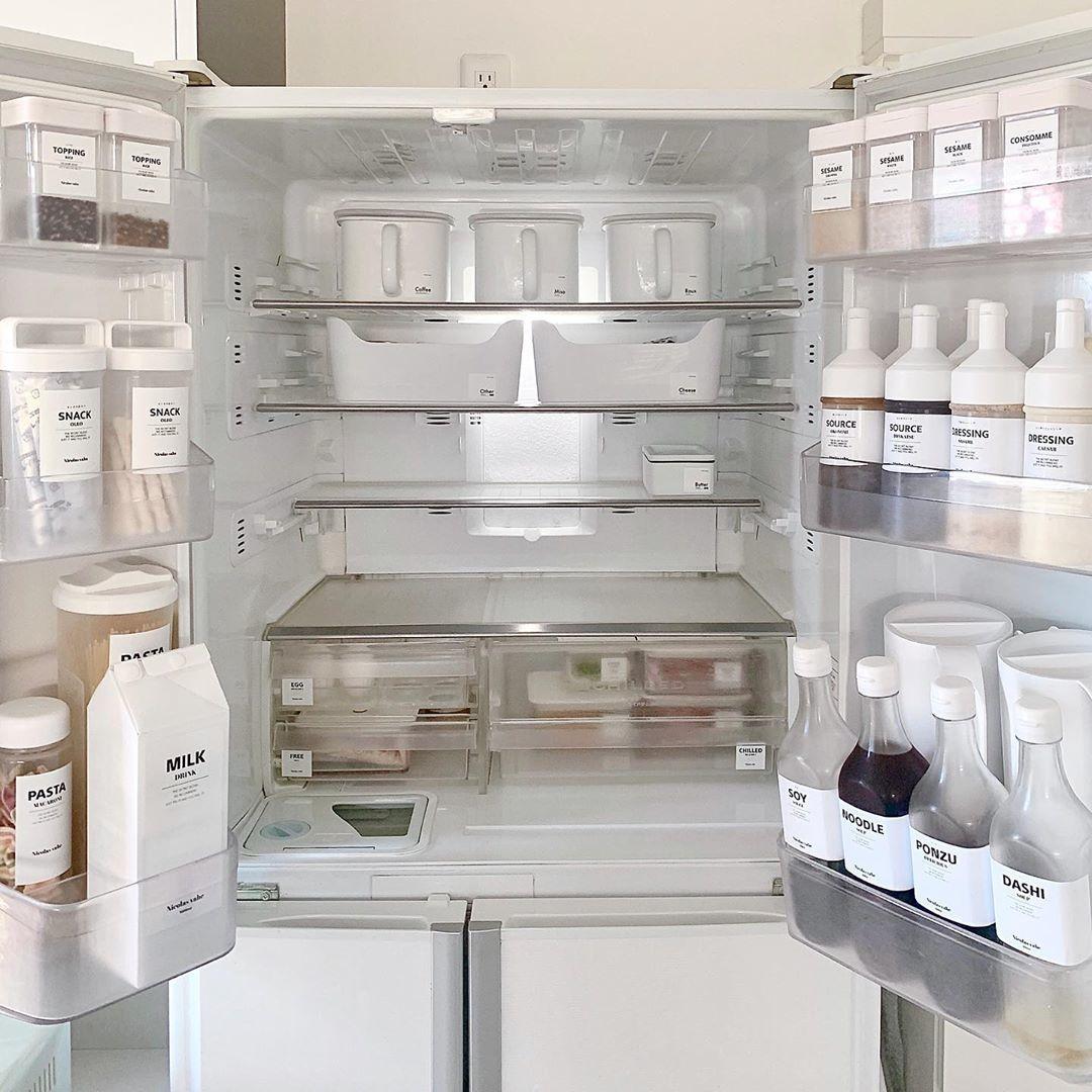 冷蔵庫の中身を日頃から把握しておく