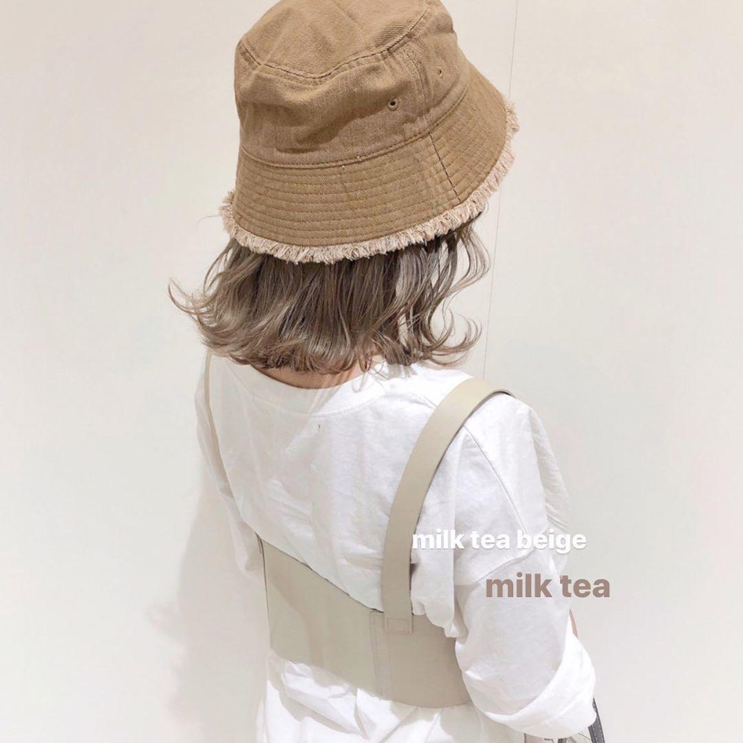 ミルクティー×髪色にチャレンジ