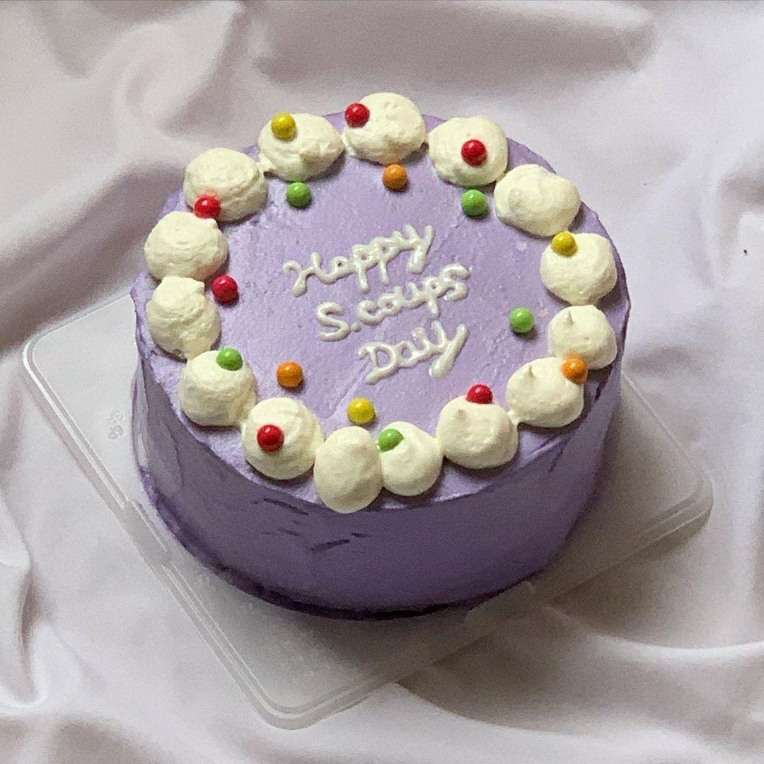 1|センイルケーキでお祝い