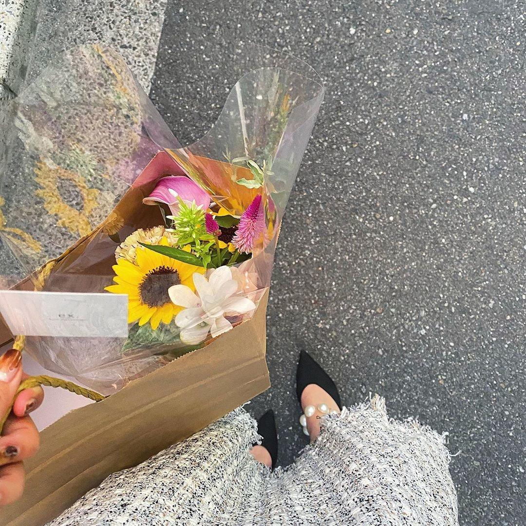 誕生月に合ったお花をチョイス