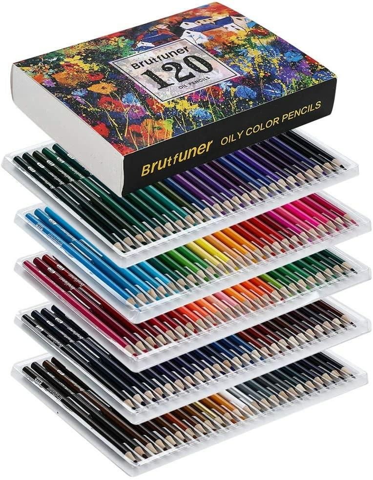 色鉛筆 120色