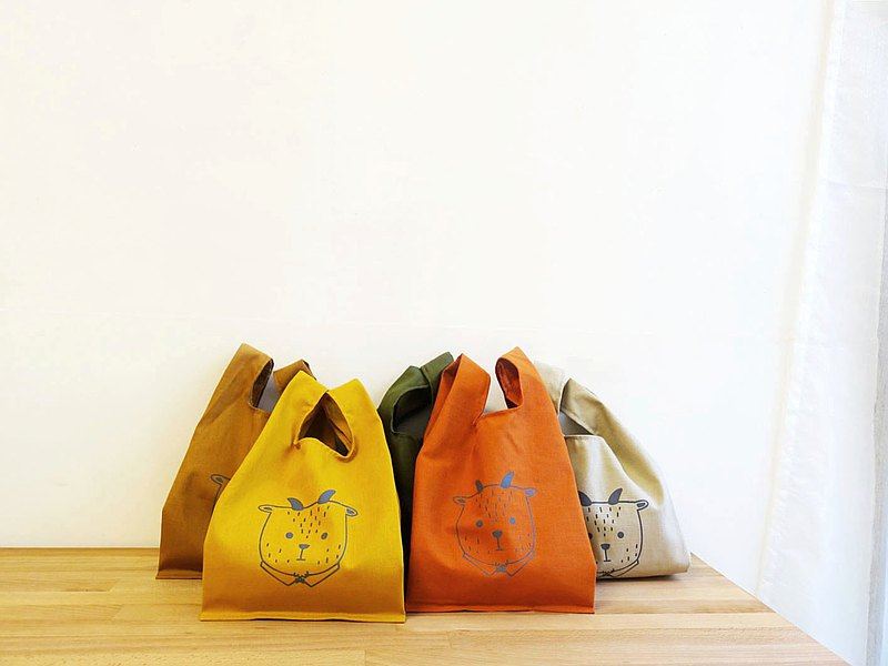 Small cotton shopping bag