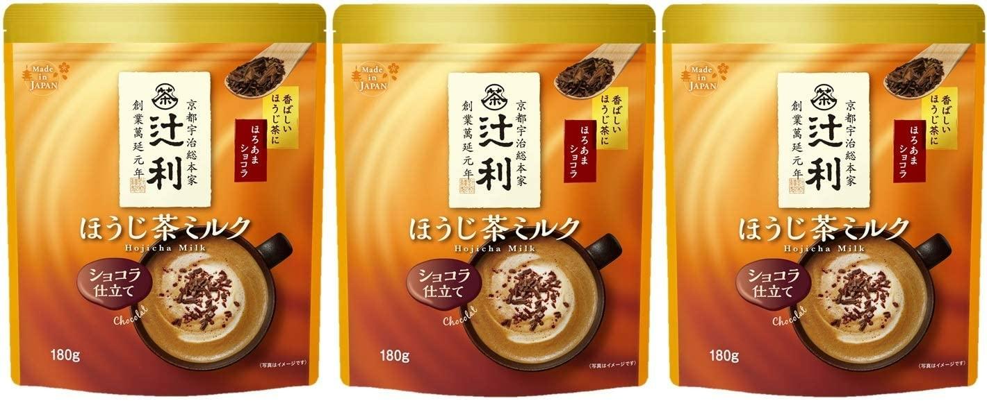 ほうじ茶ミルク ショコラ仕立て 180g×3袋