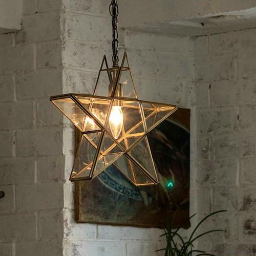 星型 ペンダントライト