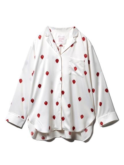 【PARIYA】イチゴサテンシャツ