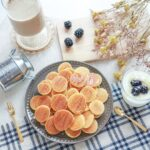 ミニサイズの一目惚れグルメ♡朝食にもおやつにも大活躍なシリアルパンケーキの話