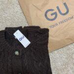 """シンプルなのにお洒落にコーデがキマる。コスパ最強の""""GU""""で賢く上手にお買い物♡"""