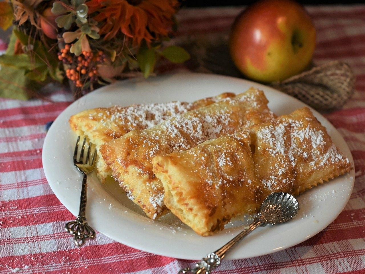 アップルパイといい香りのハーモニー
