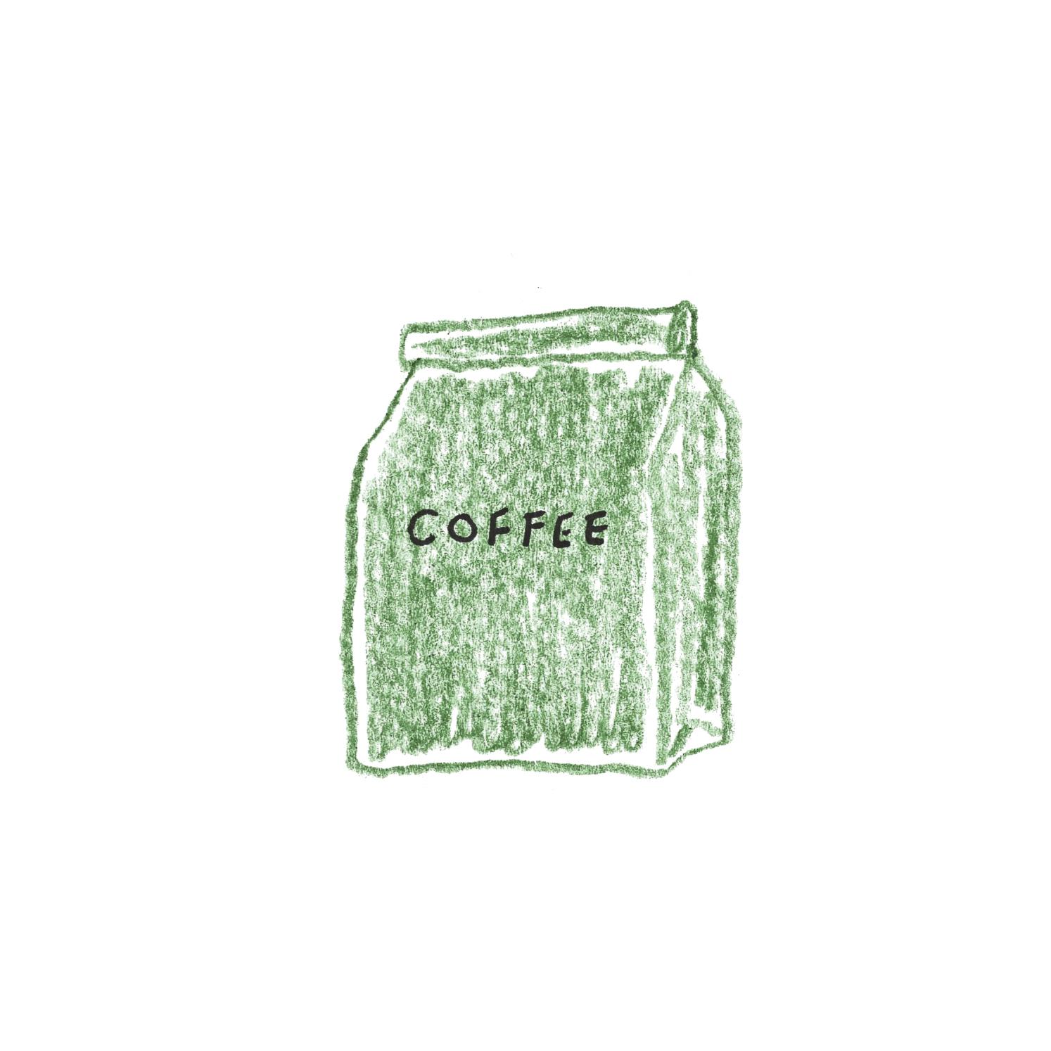 B:コーヒー豆や茶葉