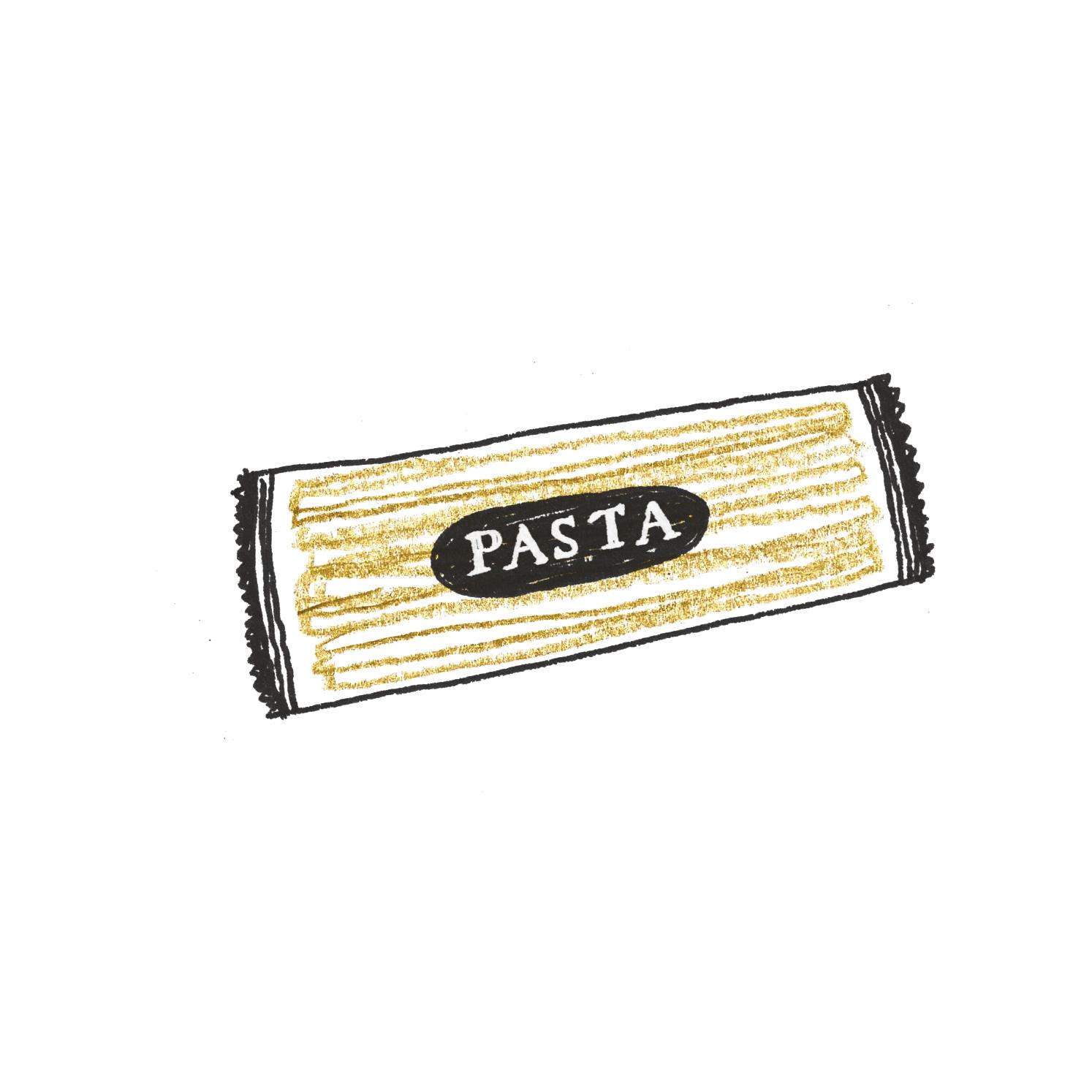 A:パスタ