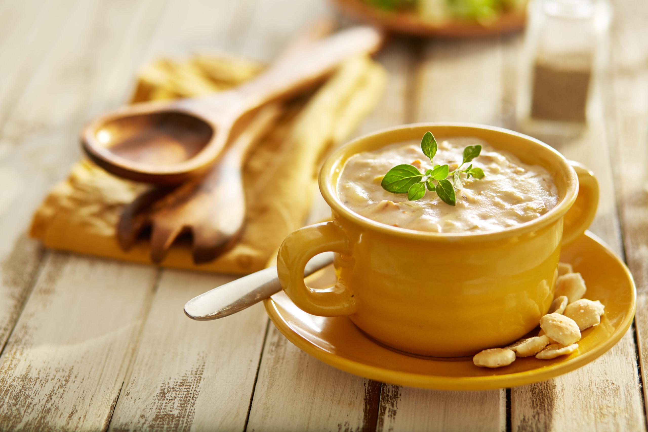 温かいスープでほっと一息♡