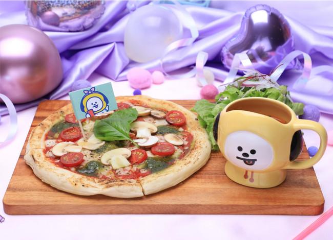 :マルゲリータピザ セットメニュー(1,490円)