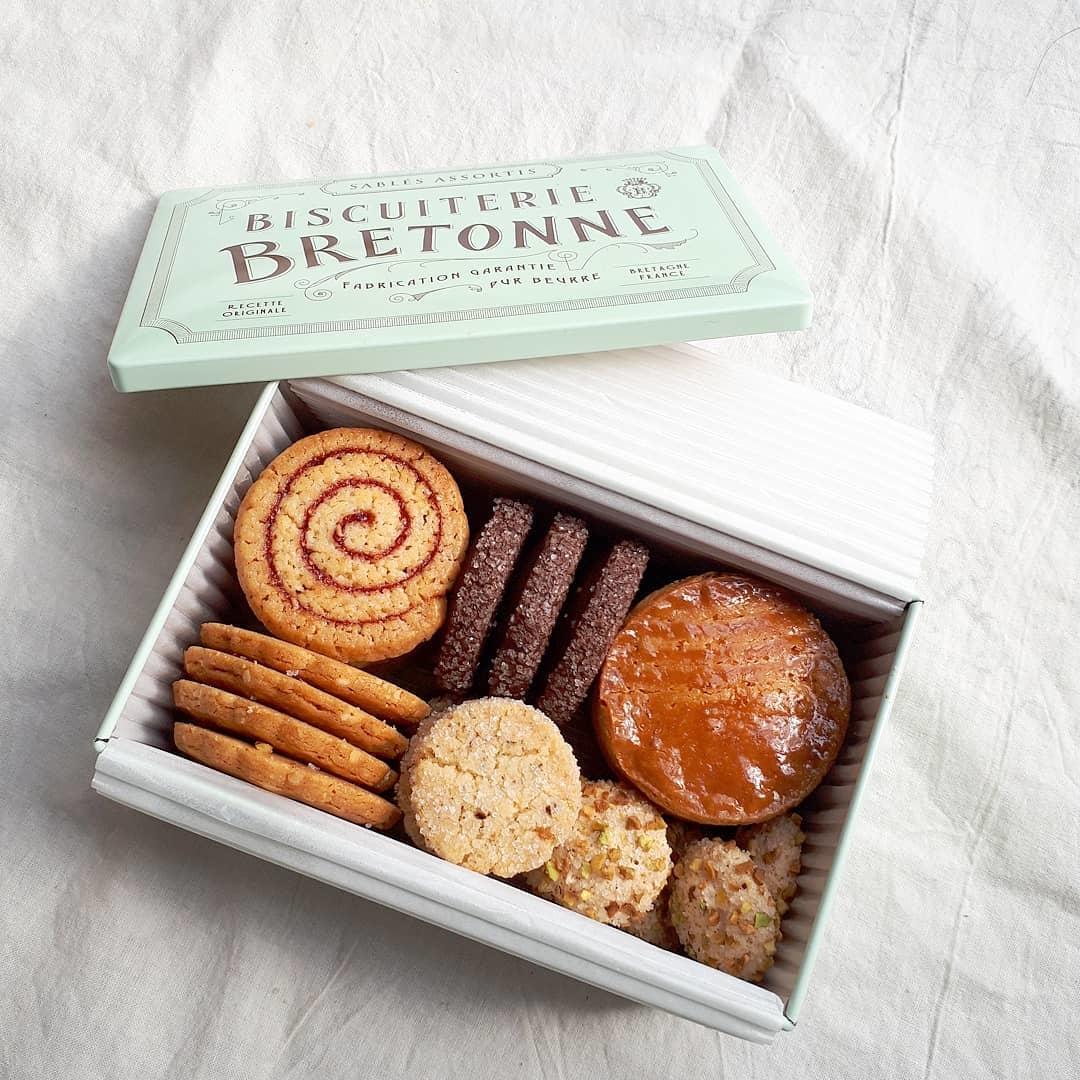 『BISCUITERIE BRETONNE』の焼き菓子