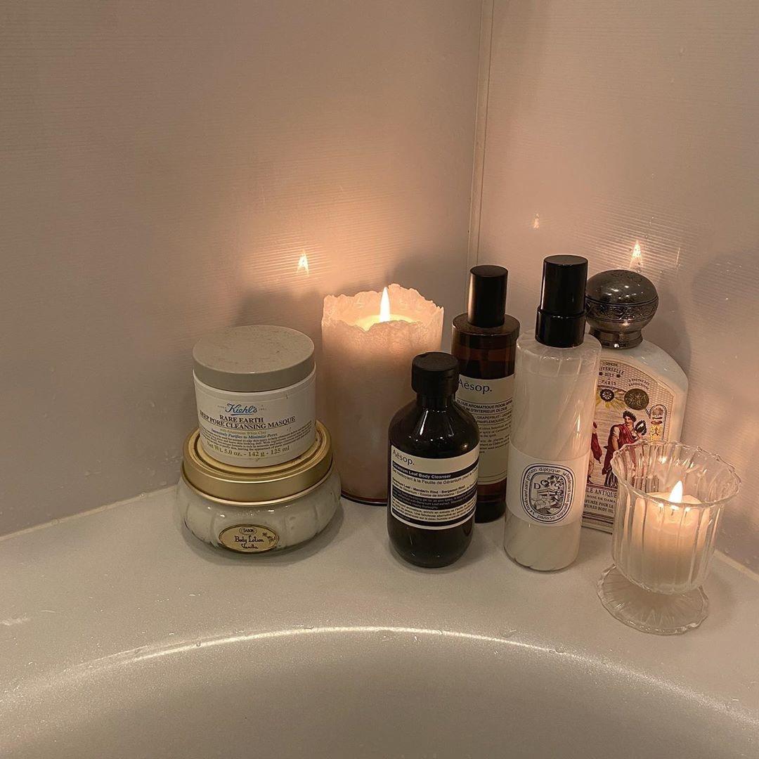  Bath time routine 