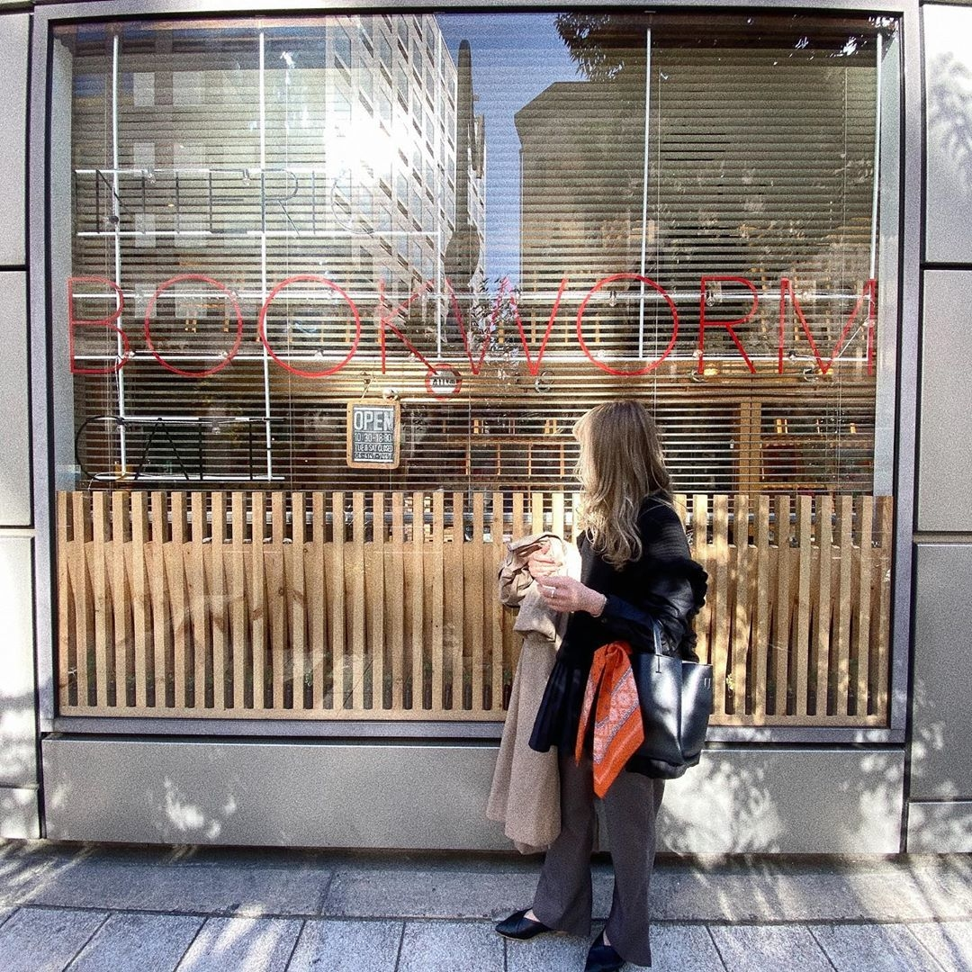 【大阪】INTERIOR BOOKWORM CAFE