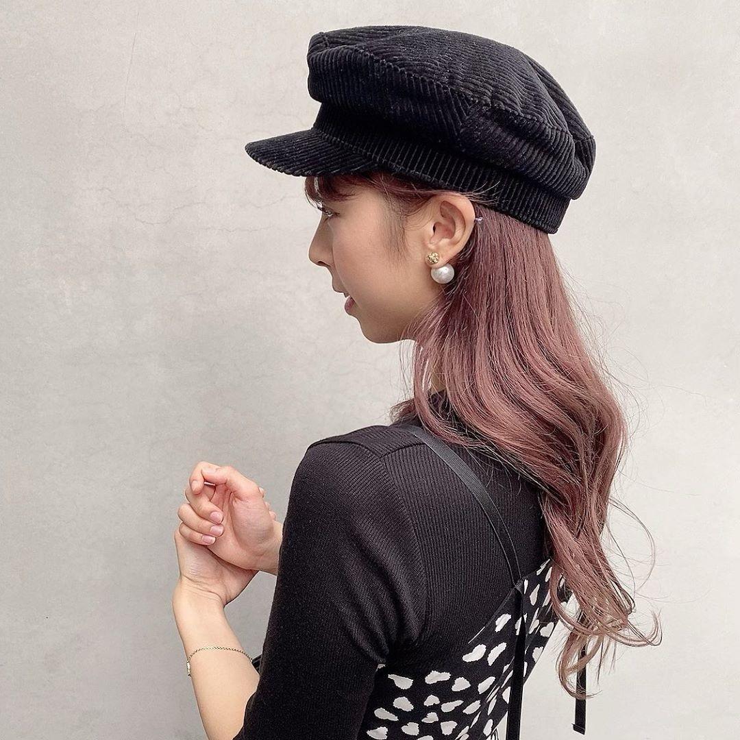 こなれ感のある帽子がかわいいかも