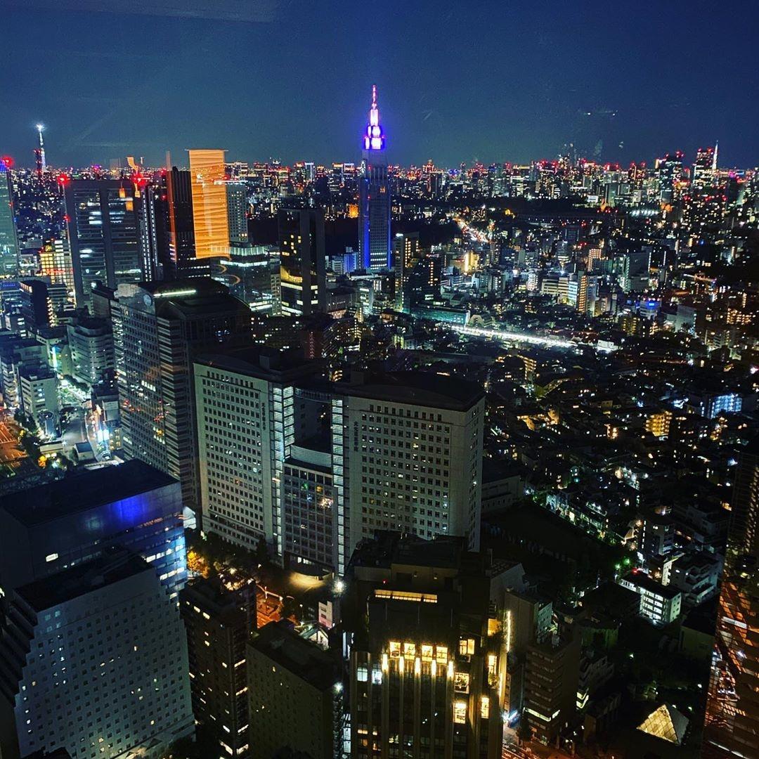 東京の景色を眺められる◎